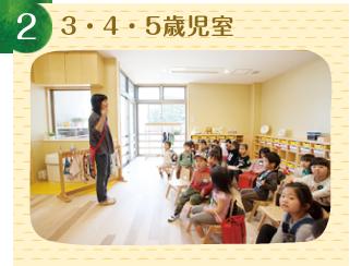 3・4・5歳児室