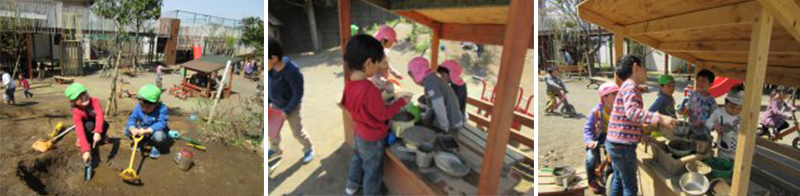 子どもたちの興味・関心を生み出す宝の山