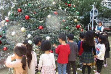 クリスマスの始まりの予感